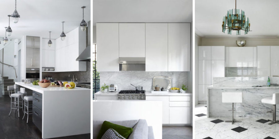 View In Gallery White Kitchen 900x450 37 Bright, White Kitchens To Emulate  Your Own After