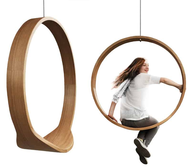 The O So Sassy Swing Chair By Iwona Kosicka