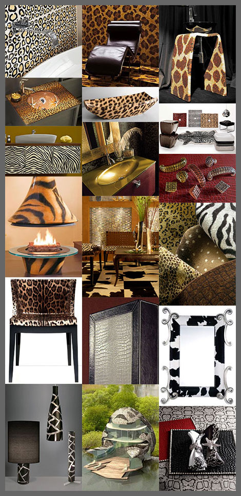 animal print decor trends