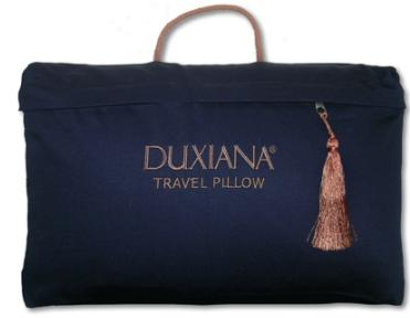 2006 duxiana travel pillow 2006 DUXIANA® Travel Pillow   Travel with Luxury