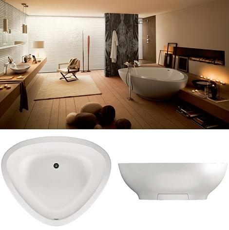 Triangular Bathtubs - Axor Massaud bathtub 2009 from Hansgrohe