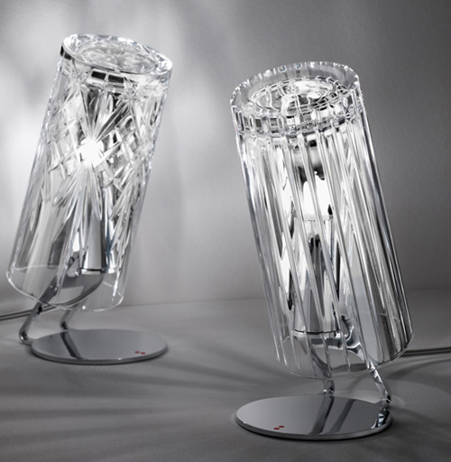 crystal lamps dono fabbian 1 Small Crystal Lamps by Fabbian   Dono