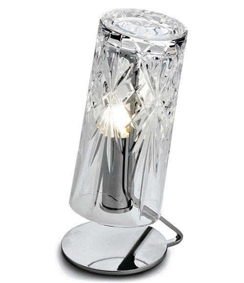 crystal lamps dono fabbian 2 Small Crystal Lamps by Fabbian   Dono
