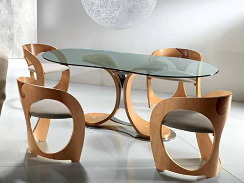 fantastic dining table chairs carpanelli 2 Fantastic Dining Table and Chairs by Carpanelli