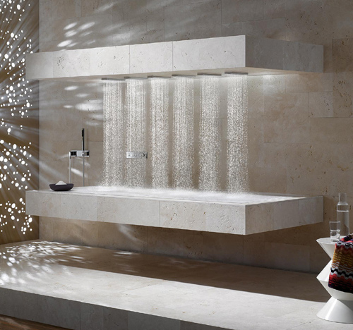 horizontal shower donbracht 6 Horizontal Shower by Dornbracht