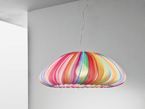 fabric muse pendant lamp axo light 1 Fabric Pendant Lamp by Axo Light