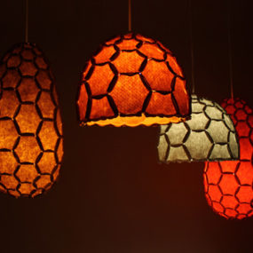 Honeycomb Pendant Lights – Nectar Hanging Lamps by Designtree
