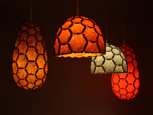 honeycomb pendant lights nectar hanging lamps designtree 1 Honeycomb Pendant Lights   Nectar Hanging Lamps by Designtree