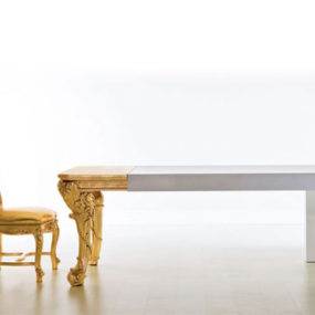 Dramatic Dining Table by Creazioni – Il Capo