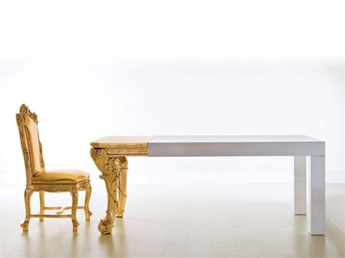 creazioni Il capo dining table 1 Dramatic Dining Table by Creazioni   Il Capo