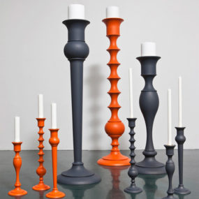 Giant Candlesticks by Anki Gneib – Holy