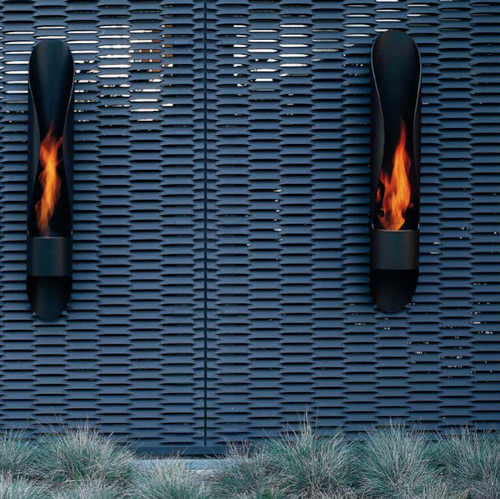 tube outdoor bioethanol fireplace acquaefuoco wellness mood 2 Tube Outdoor Bioethanol Fireplace by Acquaefuoco
