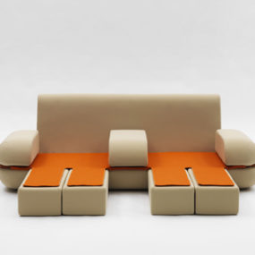 Cool Foldable Sofa by Campeggi