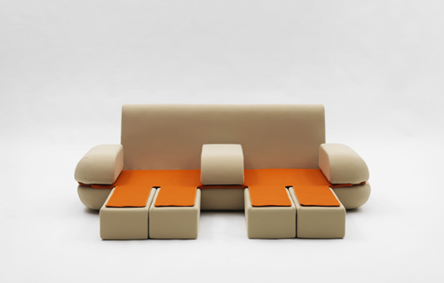 cool foldable sofa campeggi 1 Cool Foldable Sofa by Campeggi