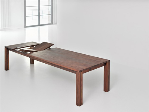 view in gallery solid wood extending dining table vitamin design living 2 solid wood extending dining table by vitamin
