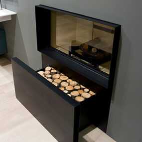 Gas Log Fireplace by Antonio Lupi – Skemabox