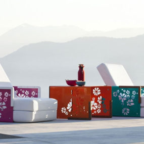 Outdoor Convertible Furniture by Ego Paris– Kube Collection