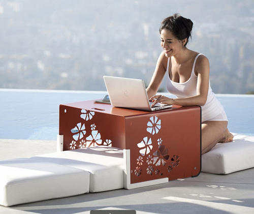 outdoor convertible furniture ego paris kube collection 3