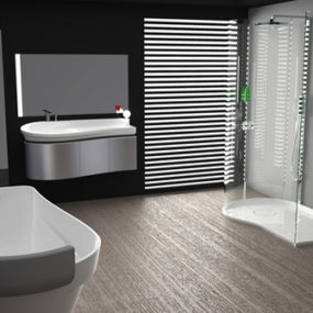 Sleek Modern Bathroom Collection by Bluform – Prima