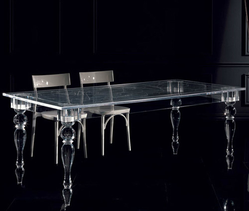 acrylic table colico design oste 1 Acrylic Table Design by Colico Design