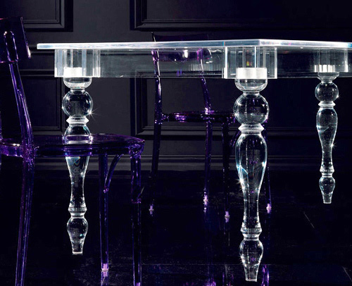acrylic table colico design oste 2 Acrylic Table Design by Colico Design