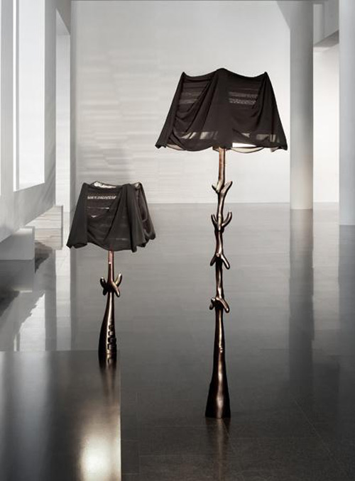 art floor table lamps bd barcelona design black label sculptures muletas cajones 1 Art Floor Table Lamps by BD Barcelona   Black Label Lamp Sculptures