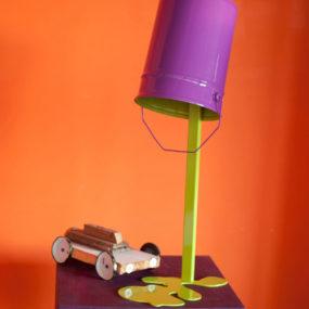 Metal Sculpture Lampsby Nathalie Bernollin – Oups