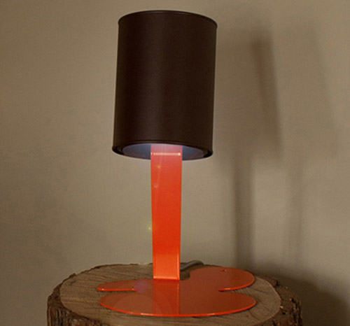 Metal Sculpture Lamps By Nathalie Bernollin Oups