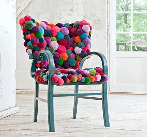 unique seating furniture myk chair pouf bommel 4 Unique Seating Furniture by MYK is Fun!