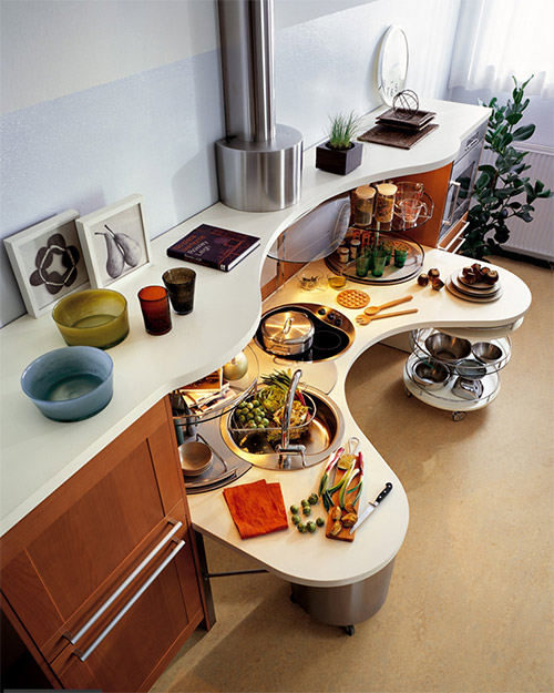 special needs kitchens snaidero skyline lab 2