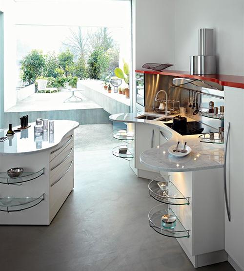 special needs kitchens snaidero skyline lab 3