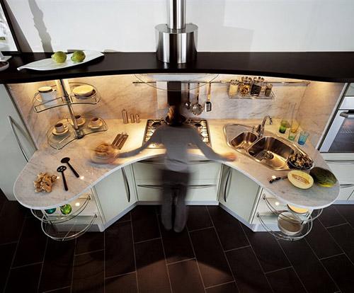 special needs kitchens snaidero skyline lab 4