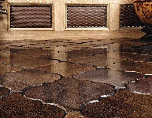 Interlocking Wood Floor Tiles For
