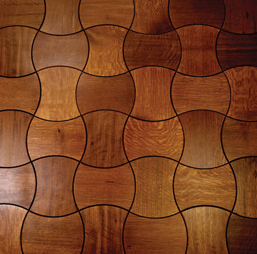 View In Gallery Parquet Flooring Enigma Jamie Beckwith 3 Interlocking Wood Floor Tiles For By