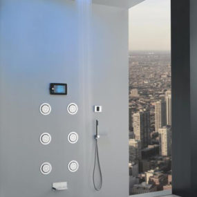 Electronic Shower System by Graff – Aqua Sense