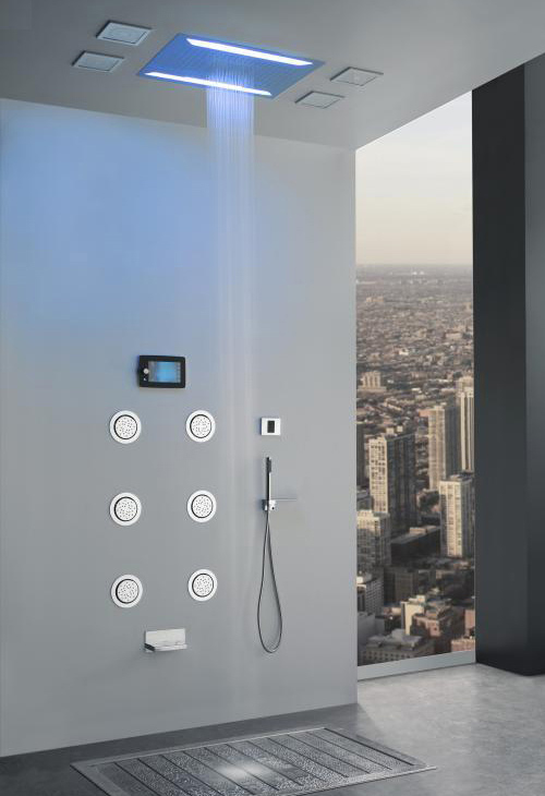 aqua sense electronic shower system graff 1 Electronic Shower System by Graff   Aqua Sense