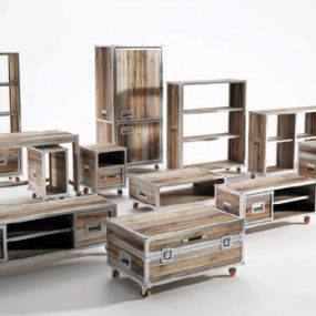 Recycled Teak Wood Furniture by Karpenter – Roadie