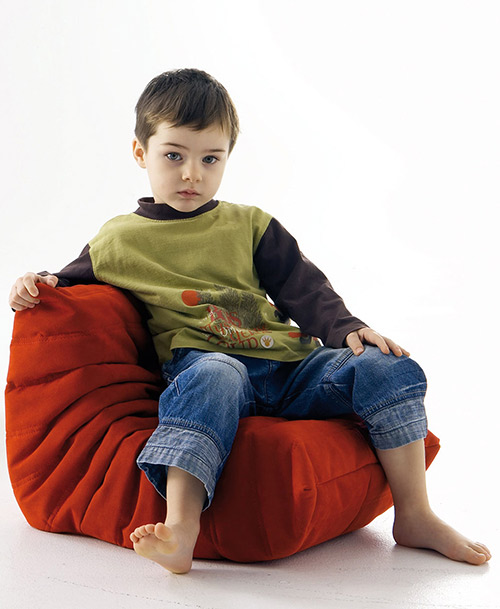 designer kids chairs ligne roset mini togo chairs 2 Designer Kids Chairs by Ligne Roset   Mini Togo