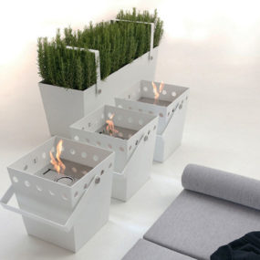 Portable Ethanol Fireplace By Falper