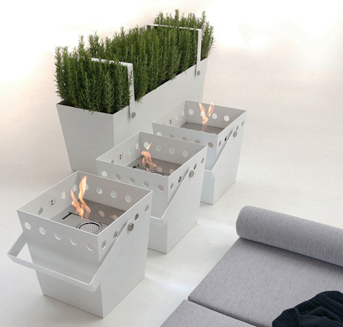 portable ethanol fireplace falper secchiello 1