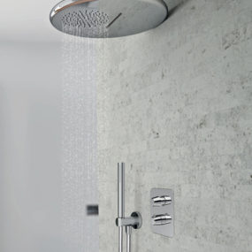 Round Rain Showerhead by Ponsi