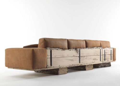 rustic wood sofa utah riva 1 Rustic Wood Sofa Utah by Riva