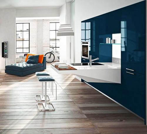 compact kitchen design snaidero board 1 Compact Kitchen Design by Snaidero   Board