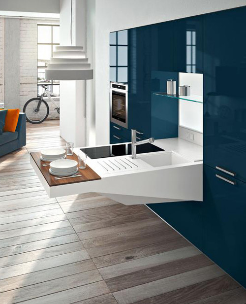 Compact Kitchen Design by Snaidero - Board