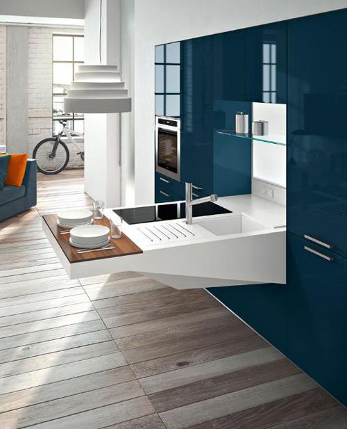 compact kitchen design snaidero board 2 Compact Kitchen Design by Snaidero   Board