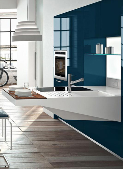 compact kitchen design. View in gallery compact kitchen design snaidero board 5 jpg Compact Kitchen Design by Snaidero  Board