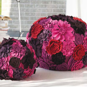 Decorative Poufs by LocaNera