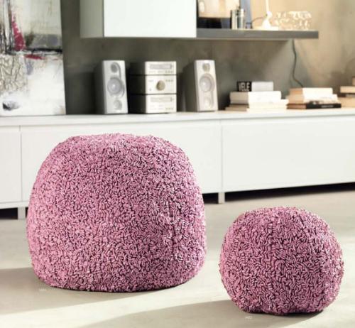 decorative poufs locanera 2 Decorative Poufs by LocaNera