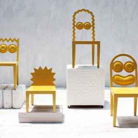 Quirky Chair Design by 56th Studio