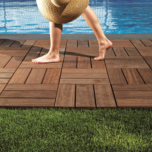 Outdoor Wood Flooring By Bellotti